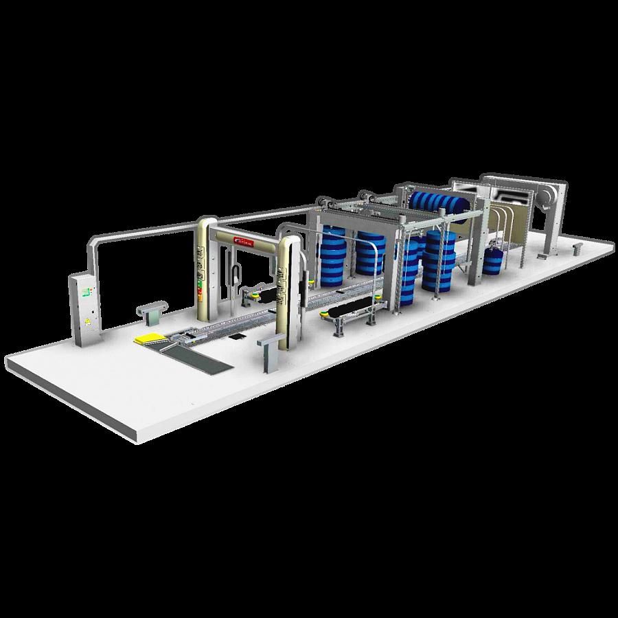 Дополнительное оборудование конвейерных установок гравитационный элеватор